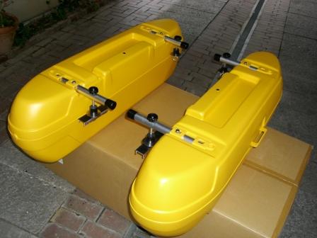「新品 リョービ・ボートエース 23 ・ 25用 フロートシステム」の画像1
