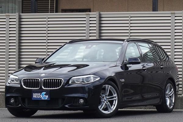 「後期 BMW 523d ツーリング Mスポーツ 1オーナー/禁煙/不具合&修復歴無し/機関良好/車検R5年9月【18インチAW/TV/BT/USB/ETC/Bカメラ/LED】」の画像1
