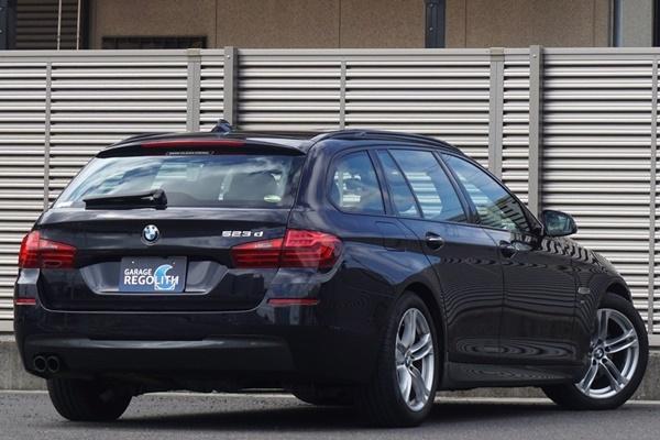 「後期 BMW 523d ツーリング Mスポーツ 1オーナー/禁煙/不具合&修復歴無し/機関良好/車検R5年9月【18インチAW/TV/BT/USB/ETC/Bカメラ/LED】」の画像2