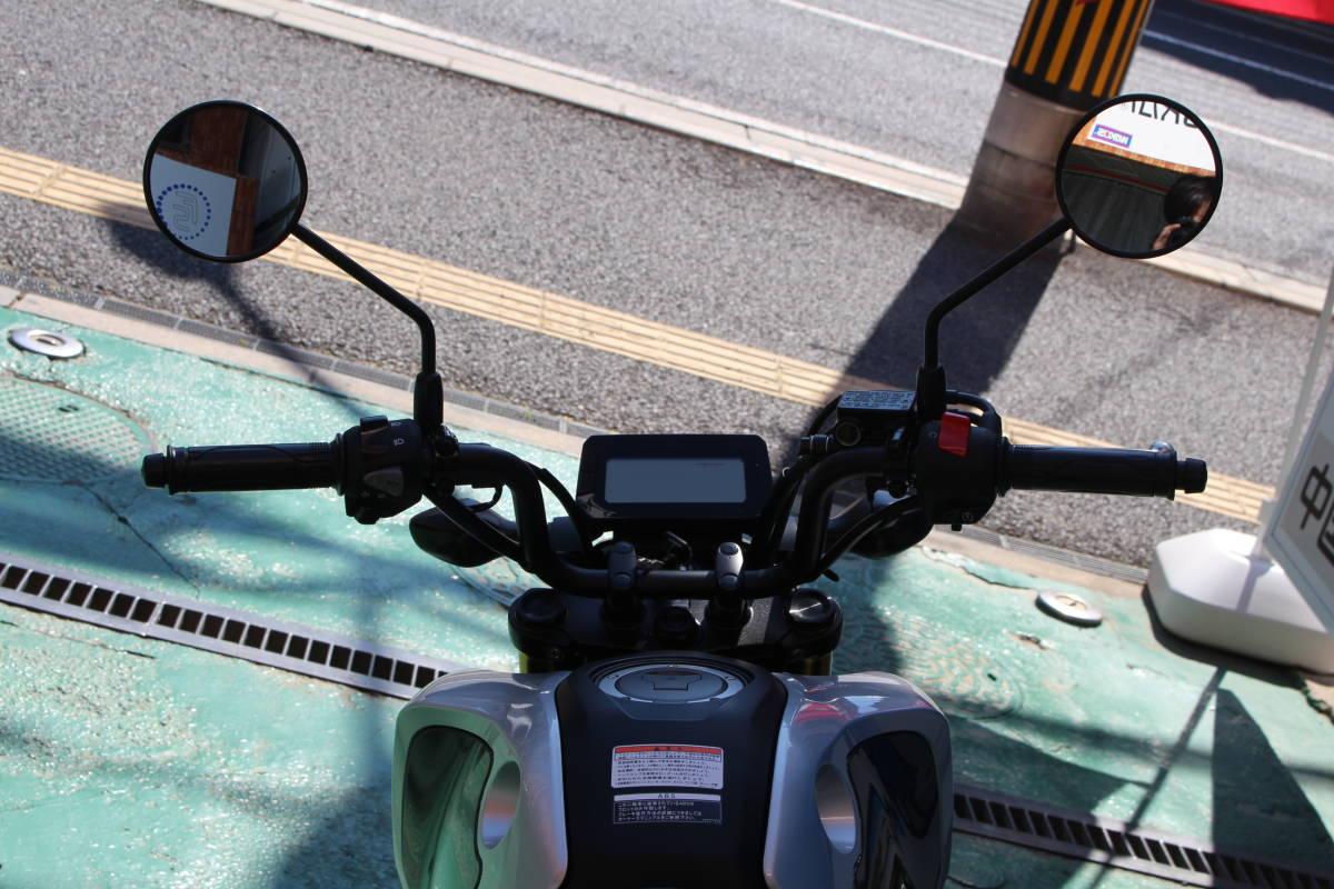 「激安 新車 グロム 新型5速 ABS LEDヘッドライト フォースシルバーメタリック 下取り 売り切り 福川商会 広島」の画像3