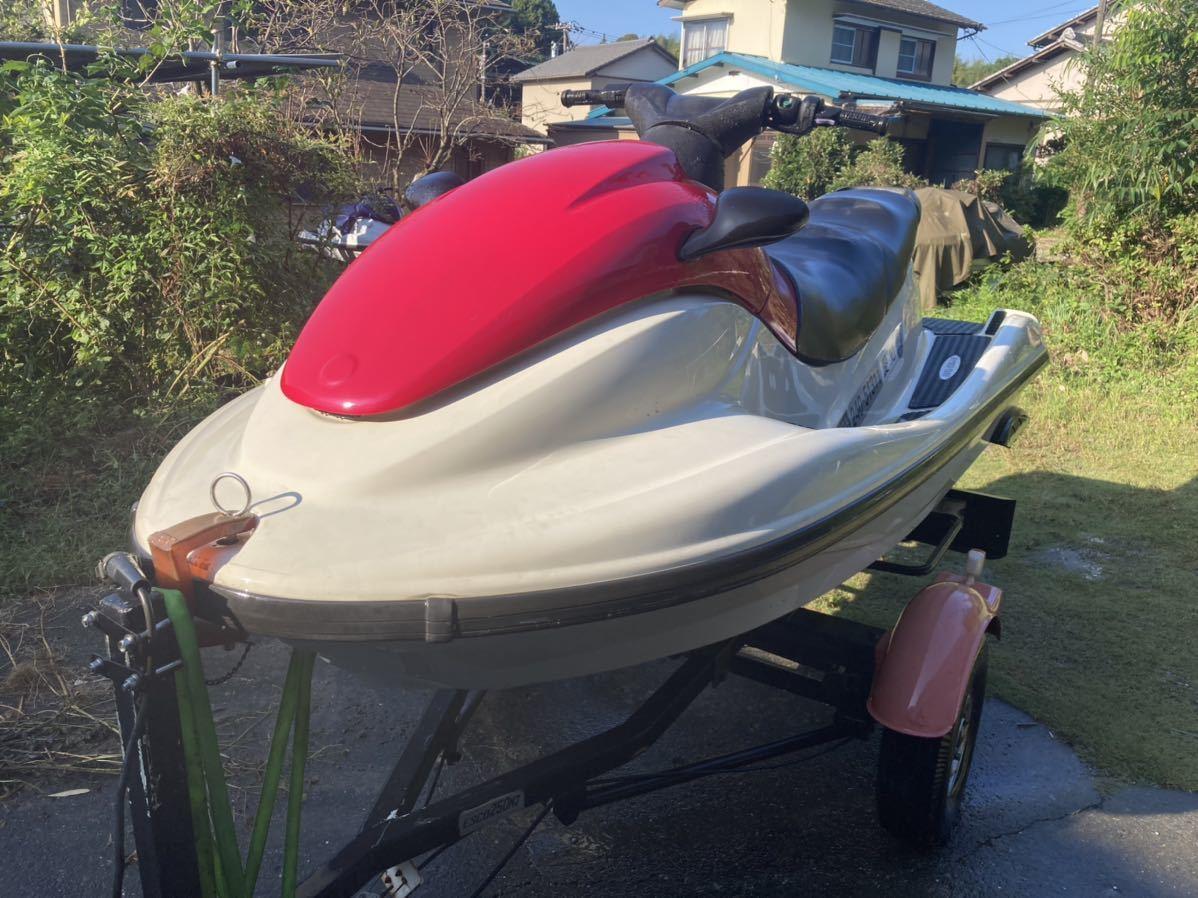 「ヤマハ YAMAHA ジェットスキー XL800? 2st 水上バイク エンジンかかりますが、ジャンク」の画像1