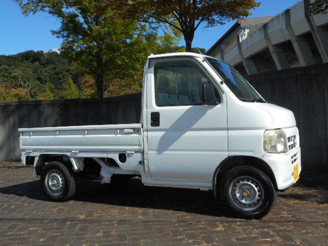 「売り切り 車検付き アクティトラック 4WD エアコン パワステ 付き 軽トラ」の画像1
