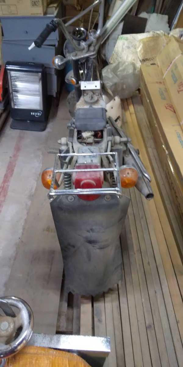 「現状渡し 車体 当時物 ダックス ST50 ノーマル 旧車」の画像3