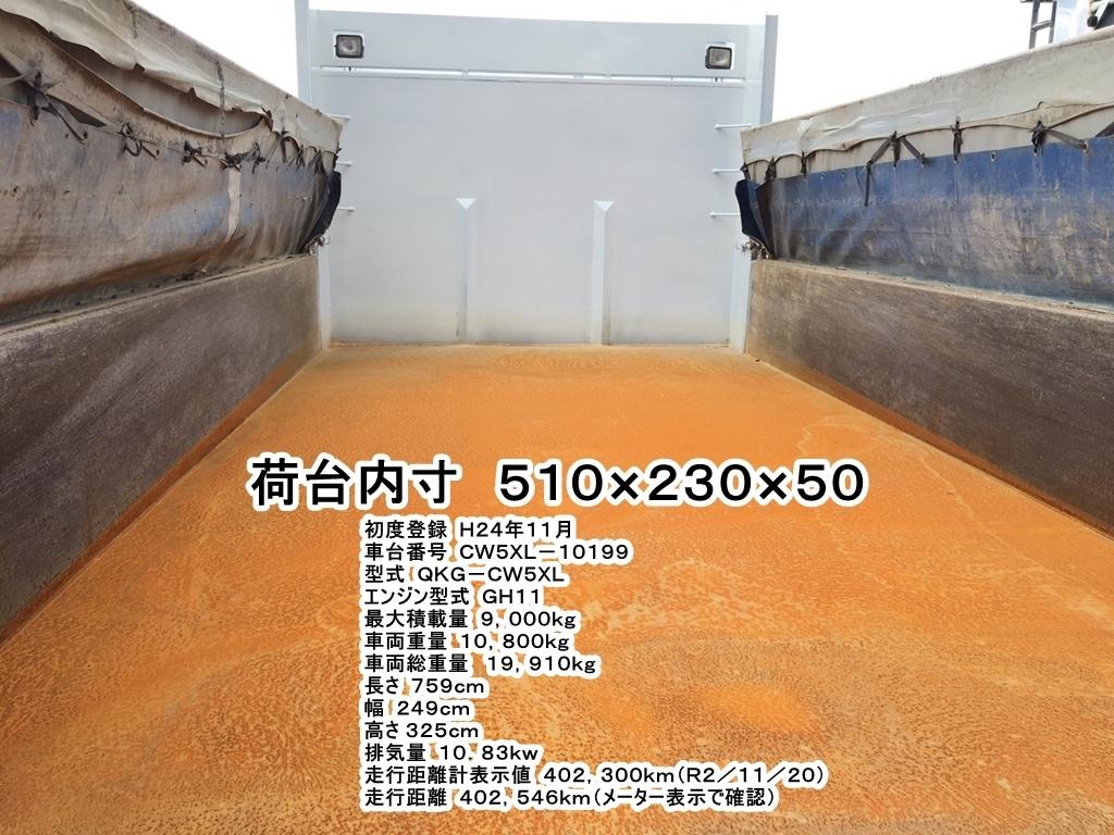 「★Lゲートダンプ/クオン・UDトラックス/H24年(車検有)★」の画像3