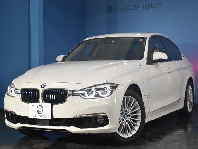 「【くるま☆市場】BMW 330eラグジュアリー 後期 PHEV 追従ACC LCW ヒーター付茶革 LED/H&テール 衝突軽減B」の画像1