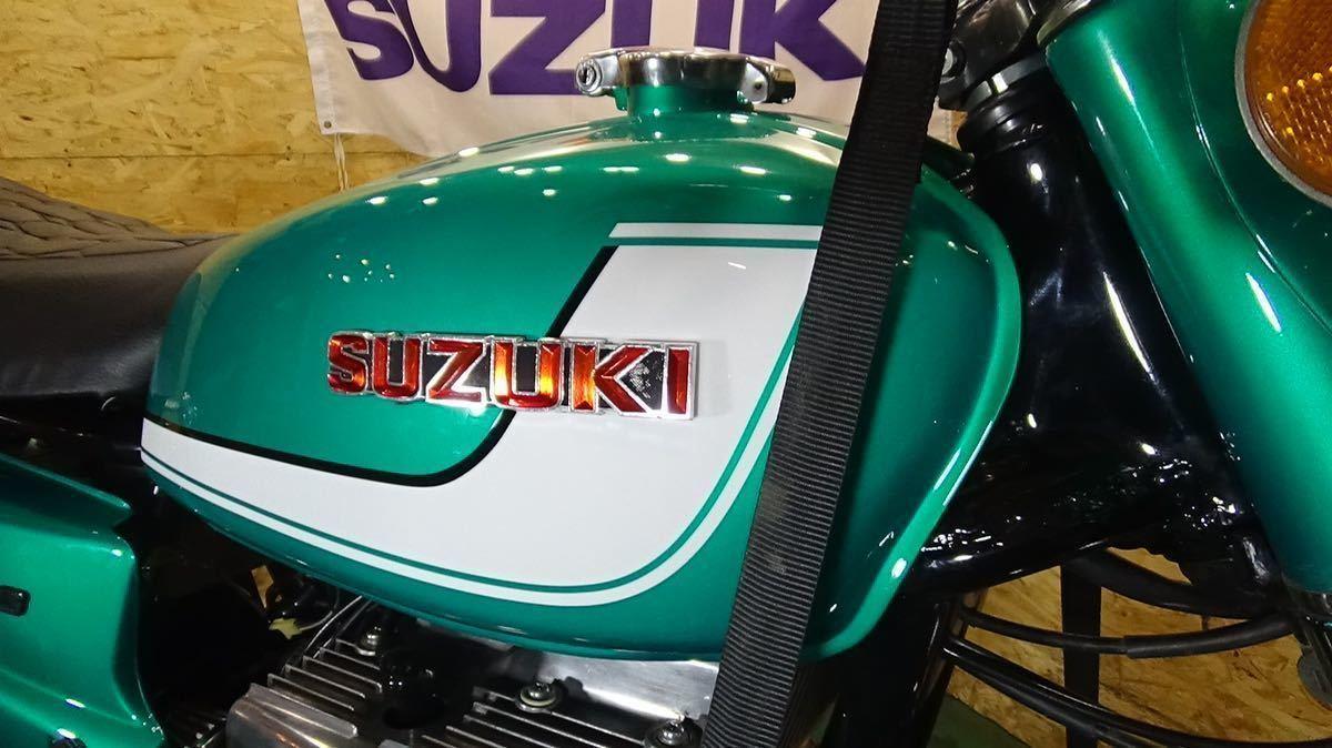 「【ローン可 SUZUKI GT380 1972年 昭和47年 旧車 希少 スズキ GT」の画像2