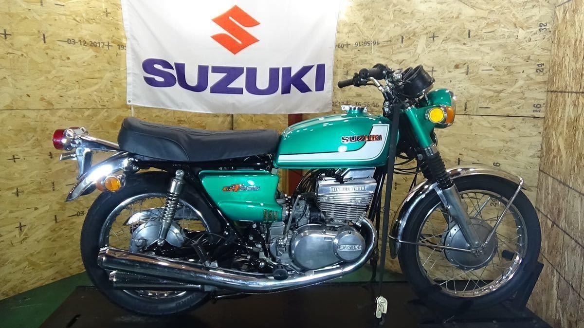 「【ローン可 SUZUKI GT380 1972年 昭和47年 旧車 希少 スズキ GT」の画像1
