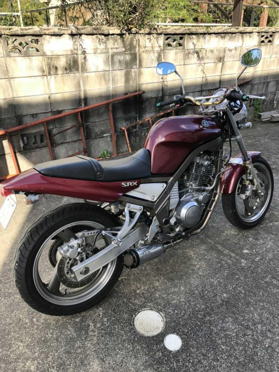 「★★YAMAHA ヤマハ SRX400 セル付き★★」の画像2