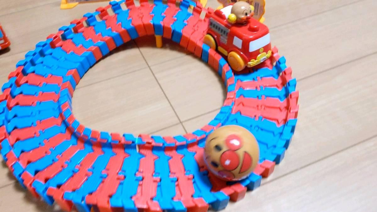 アンパンマン おもちゃ 消防車 おまけ付