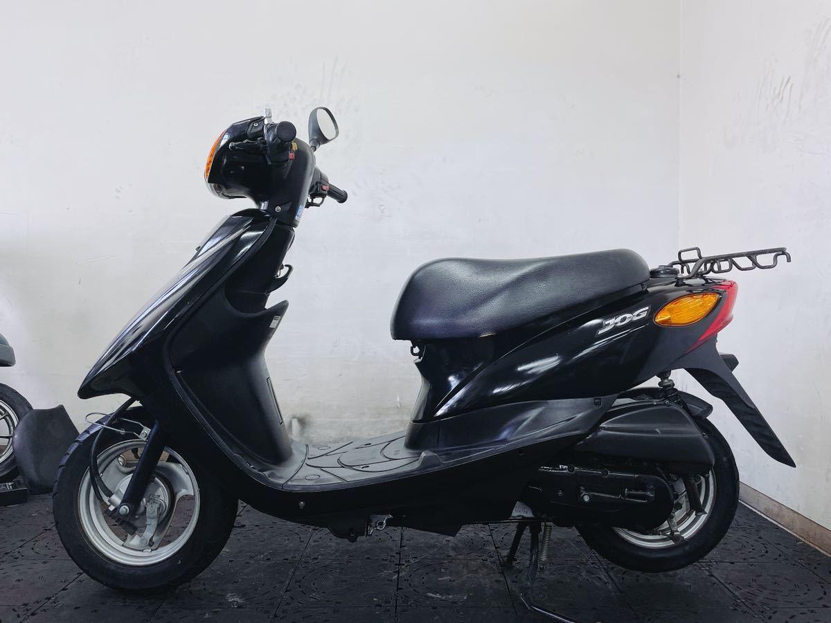 「YAMAHA ジョグ JOG SA36J FIインジェクション 低燃費の4サイクル原付バイク 通勤通学配達にオススメ 福岡市内発どこでも陸送可能 ブラック」の画像2