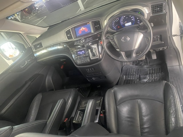 「新品車高調 pe52 アラウンドヒューモニター リアモニター 25年式 検4年8月 52 エルグランド ライダー 黒革 パワーシート」の画像3