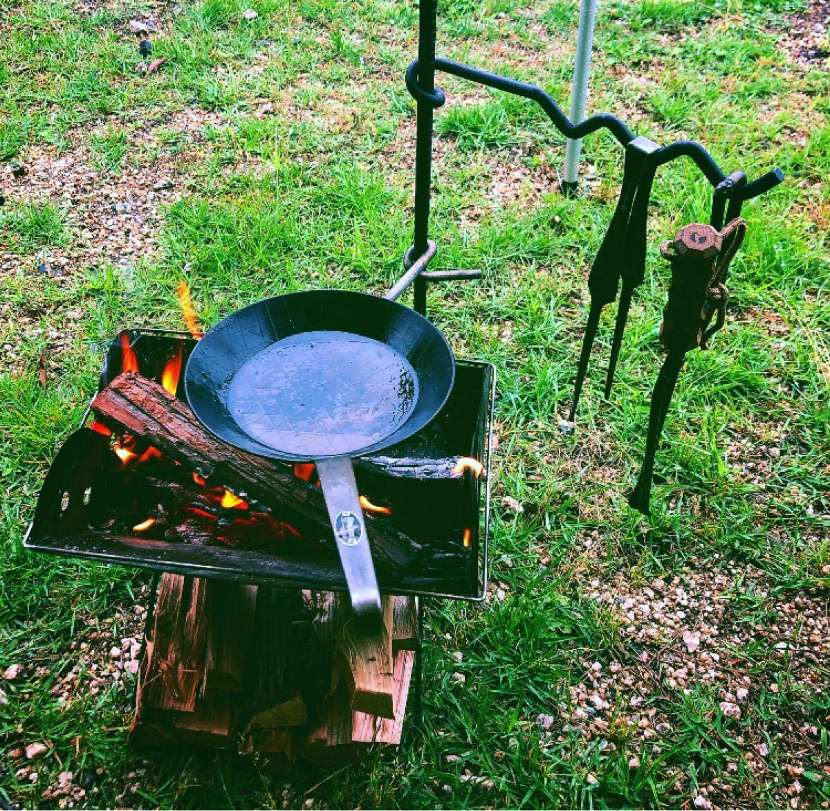 焚き火ハンガー/焚き火テーブル