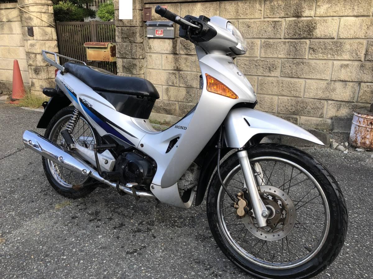 「日本未発売 カブ兄弟車 ホンダ ANF125 innova (イノーバ)125cc 書類 鍵付き 検)エアブレイド スーパーカブ」の画像1