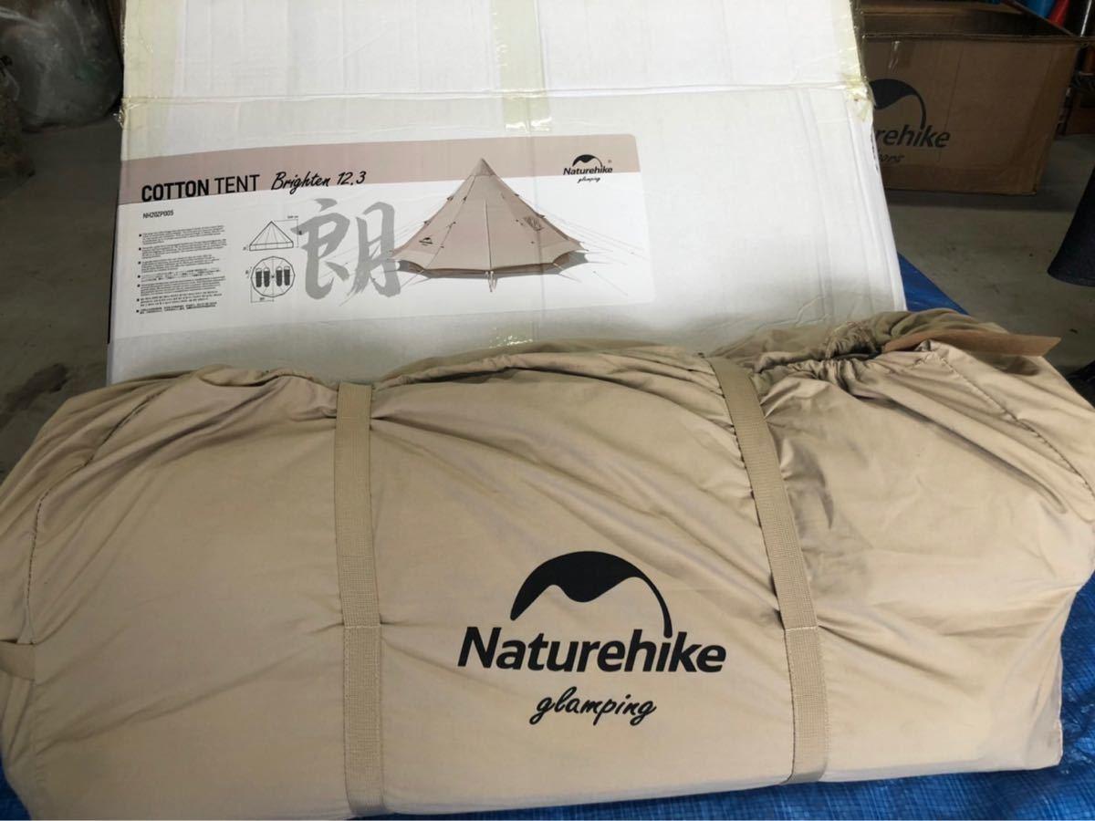 【希少】Naturehike ワンポールテント 綿布テント コットン仕様 防水綿のキャンバス ☆最終値下げ☆