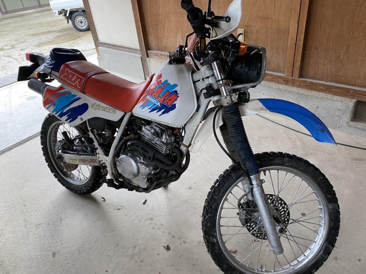 「HONDA XLR250 バハ MD22」の画像1