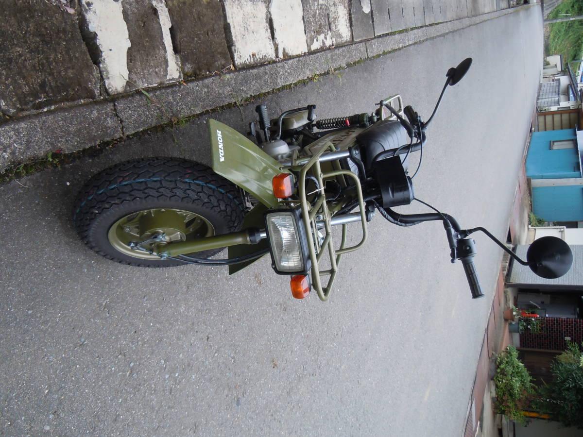 「【長野発】モトラ AD05 50cc 錆少ない タイヤ他新品パーツ多数」の画像3
