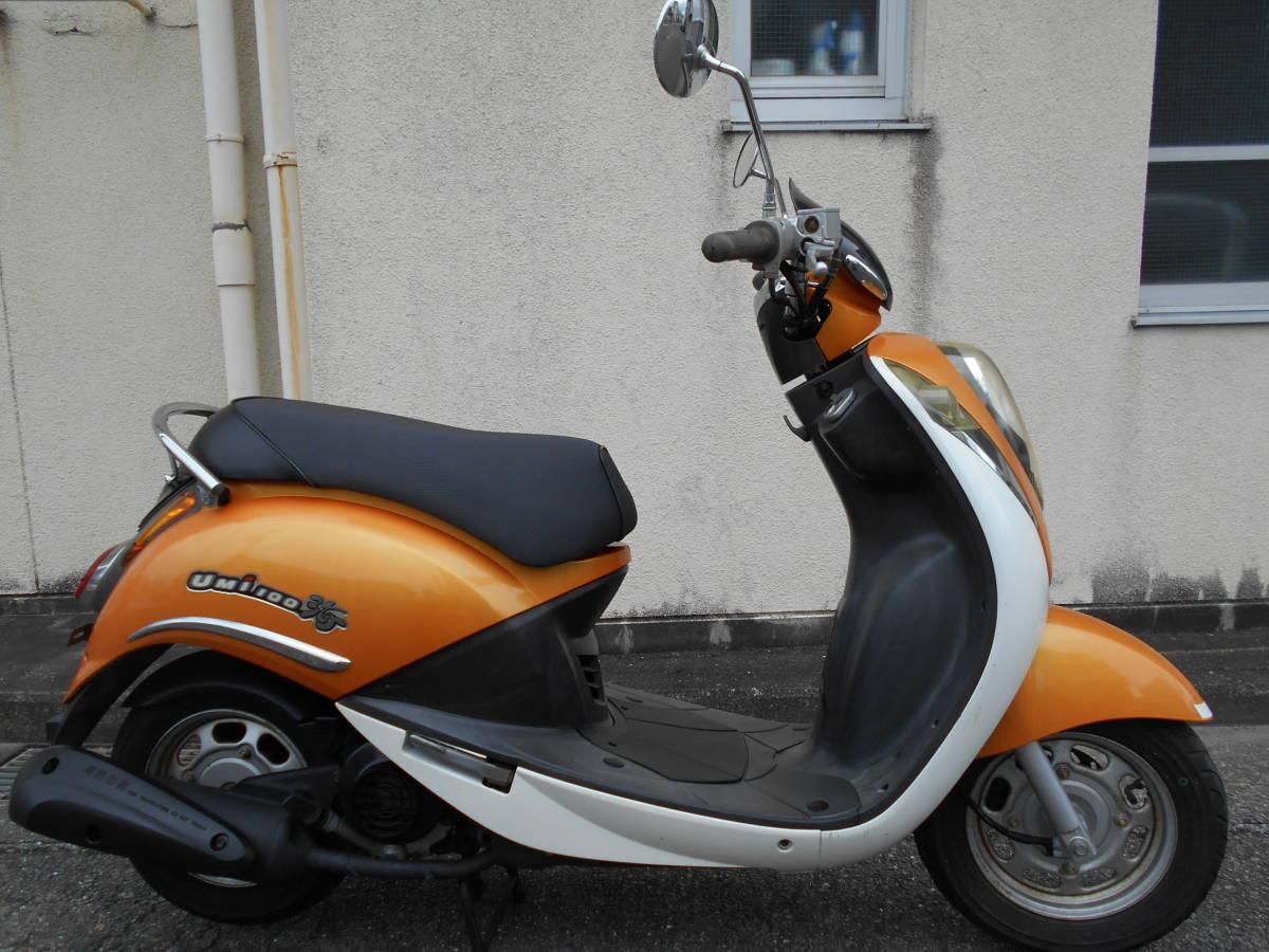 「SYM UMI100 実動(原付二種 100ccスクーター 4サイクル キャブ車 RFGHU10W75S000***」の画像1