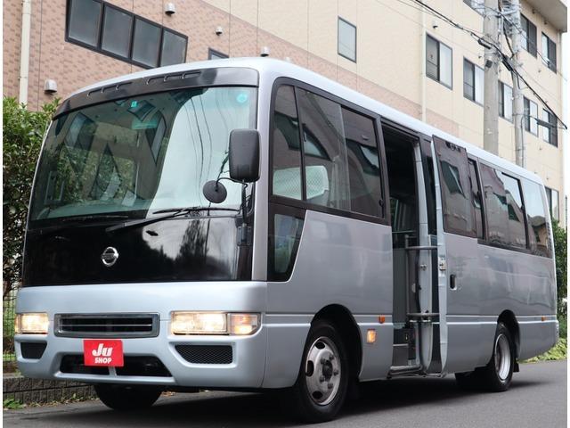 「【車卸値センター】H19 シビリアン バス マイクロバス SV ロングハイルーフ 29人 モケットシート 自動スイングドア@車選びドットコム」の画像1
