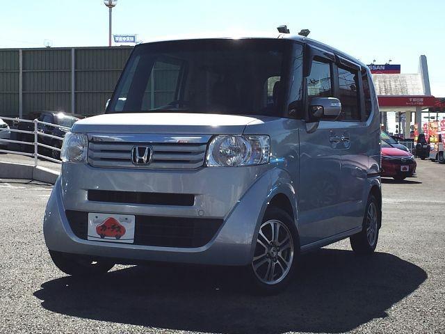 「\全車保証付/ 平成25年 ホンダ N-BOX G SSパッケージ @車選びドットコム」の画像1