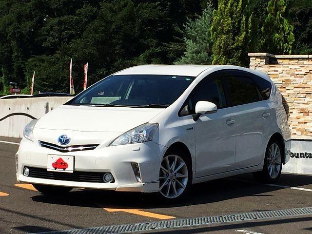 「\全車保証付/ 平成23年 トヨタ プリウスα 1.8 S ツーリングセレクション @車選びドットコム」の画像1