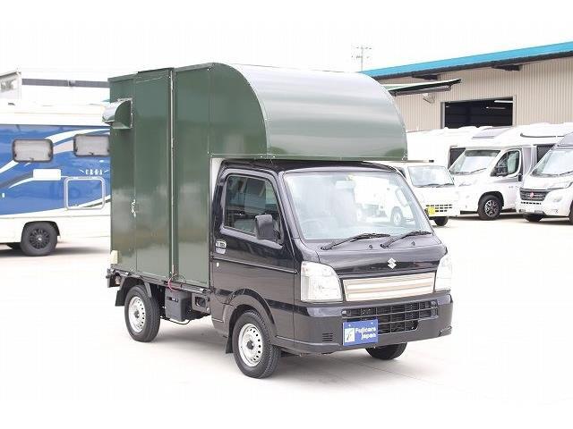 「H29 スズキ キャリィ 移動販売車 キッチンカー ケータリングカー@車選びドットコム」の画像2