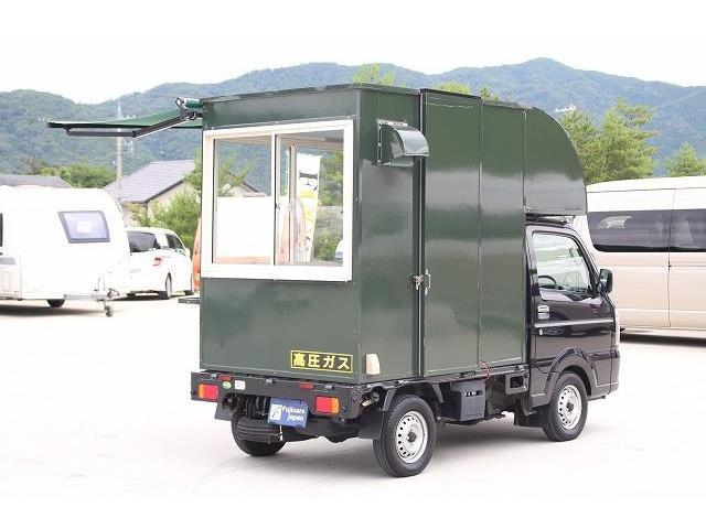 「H29 スズキ キャリィ 移動販売車 キッチンカー ケータリングカー@車選びドットコム」の画像3