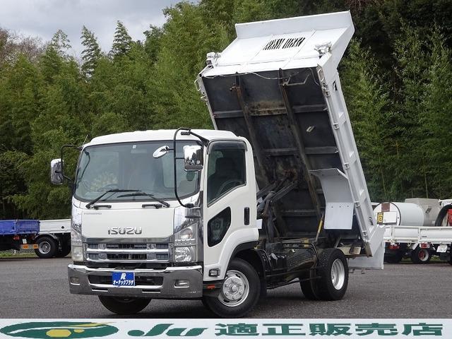 「平成22年 いすゞ フォワード ダンプ コボレーン付き 最大積載3.75トン@車選びドットコム」の画像1