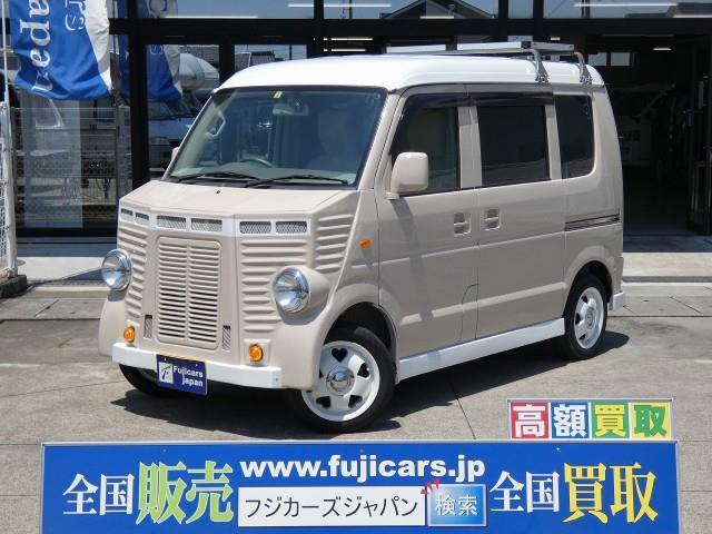 「H26 エブリィ フレンチバス仕様 ベッド@車選びドットコム」の画像1