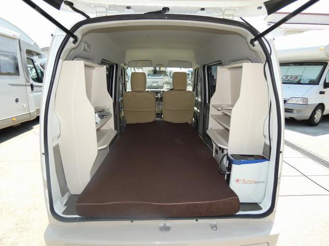 「H26 エブリィ フレンチバス仕様 ベッド@車選びドットコム」の画像2