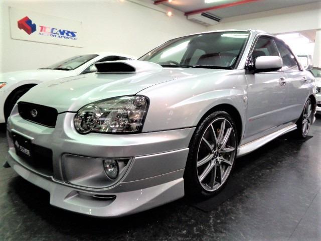 「返金保証付:平成15年 インプレッサWRX 2.0 WRX STI 4WD マフラー車高調ブレンボEV@車選びドットコム」の画像1