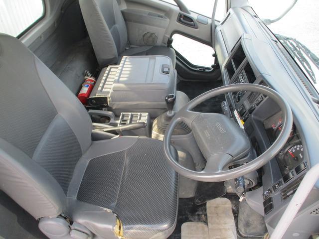 「【朝日株式会社】H21中型PKG-いすゞ フォワード土砂ダンプ 電動シート付メッキパーツノーマルバンパー付190PSターボ車@車選びドットコム」の画像3
