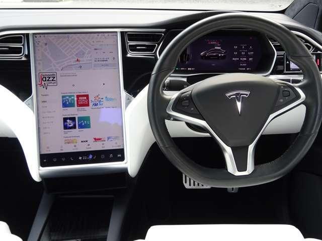 「2017年 モデルX P100D 4WD 新車保証 6人乗り 白革 22AW ドラレコ ETC プレミアムUPグレードで豪華装備です!@車選びドットコム」の画像2