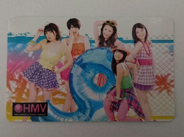 9nine 集合 「夏 wanna say love U」HMV 購入特典 トレカ