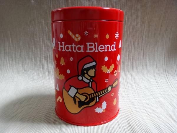 ☆秦基博 ハタブレンド クリスマス缶(レッド/限定色) 新品☆ ライブグッズの画像