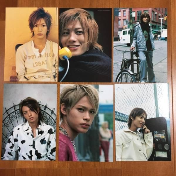 ★KAT-TUN/オリジナルポストカード(特別付録)6枚