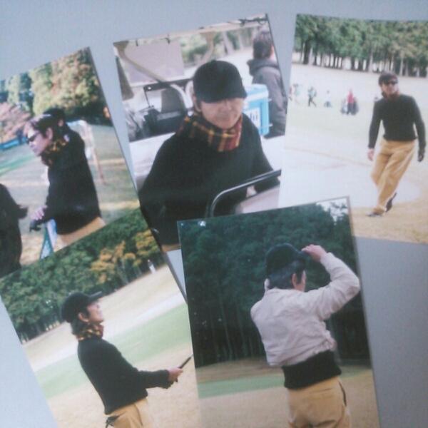 柴田恭兵チャリティーゴルフ写真