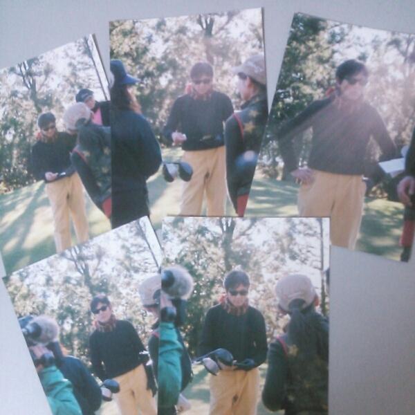 柴田恭兵チャリティーゴルフ写真5マイ