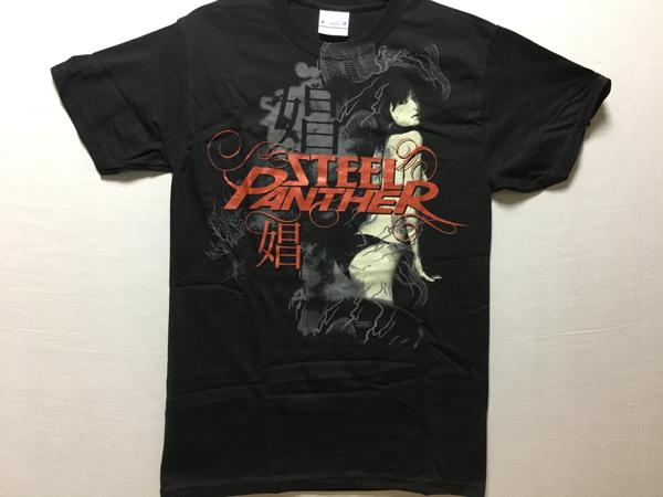 Steel Panther オフィシャルTシャツS新品 metallica guns Slayer