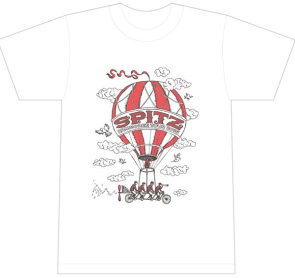 【スピッツ】醒めない グッズ 醒めないTシャツ(L)
