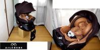 ◆Q◆超美品エールベベ360度回転クルットNT2プラウド/新生児