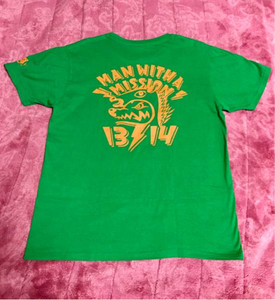 MAN WITH A MISSION13~14カウントダウンTシャツ マンウィズ