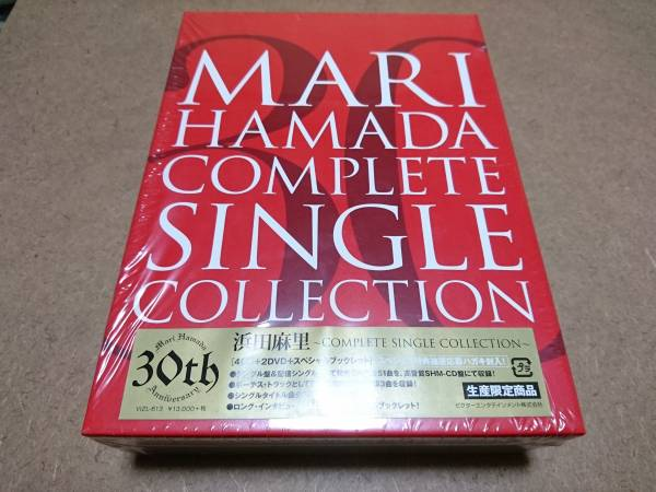 DVD)CD)浜田麻里 30th ~COMPLETE SINGLE COLLECTION ライブグッズの画像