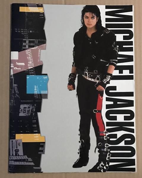 パンフレット マイケル・ジャクソン WORLD TOUR 1988