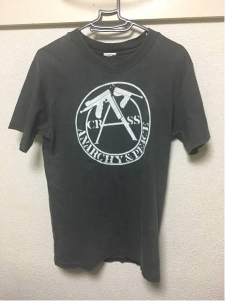 ビンテージ CRASS Tシャツ アナーキー uk ラモーンズ パンク