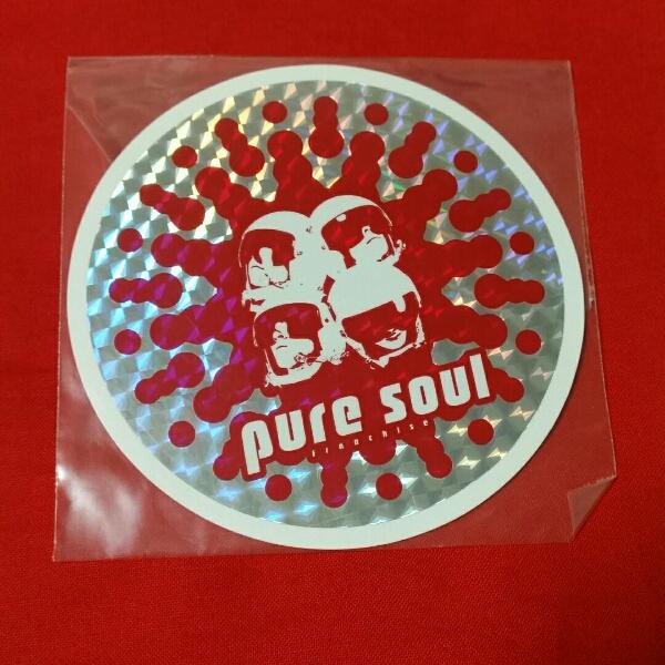 GLAY pure soul TOUR 98 ステッカー レッド 新品