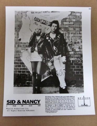 即決 ★ Sex Pistols セックス ピストルズ Sid And Nancy オリジナル・プレス写真 ★ 映画 サウンドトラック 『 シド・アンド・ナンシー 』