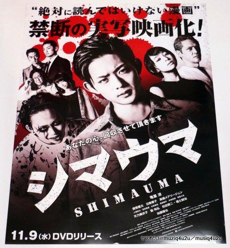 グッズ★映画 シマウマ 竜星涼 告知用 未使用 非売品★ポスター