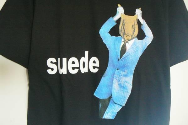L ★ スウェード Suede - Animal Nitrate バンドTシャツ ★ 新品