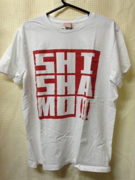 11 バンドTシャツ シシャモ SHISHAMO 白 (M) ライブグッズの画像