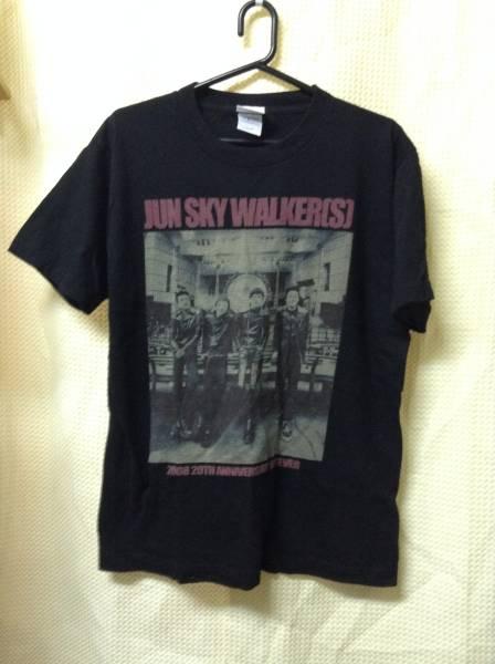 11 バンドTシャツ ジュンスカイウォーカーズ 2008 20周年 (S)